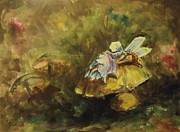 Faery Posters Originals - Sleeping Fairy by Carole Powell