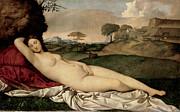 Famous Artists - Sleeping Venus by Giorgione
