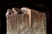 Sculptor Sculpture Originals - Sleeping Woman by Mary Buckman
