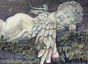 Cherub Originals - Sleepy Cherub by Rayna DeHoog