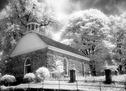 Jeff Holbrook Metal Prints - Sleepy Hollow Church Metal Print by Jeff Holbrook