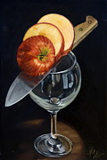 Sliced Originals - Sliced Apple by Rick Liebenow