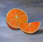 Jennifer Richards - Sliced orange