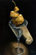 Sliced Originals - Sliced Pear by Rick Liebenow