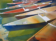 National Park Paintings - Slices by Kris Parins