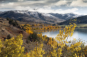 Bridger Teton Framed Prints - Slide lake Framed Print by Robert Weiman