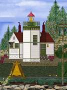 Anne Norskog - Slip Point Lighthouse...