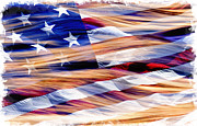 Star-spangled Banner Prints - Slipping Away - D001883-a Print by Daniel Dempster