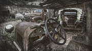 Ghost Town Metal Prints - Slipping Away Metal Print by Sean Foster