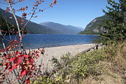 Graham Photo Originals - Slocan lake by Graham Foulkes