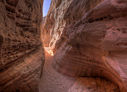 Domes Prints - Slot Canyon Print by Stephen Campbell