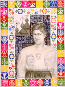 Universal Mother Art - Slovak Grandmother by Diana Perfect