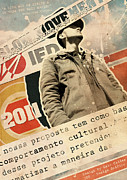 2011 Posters - Slow Movement No.02 Poster by Caio Caldas