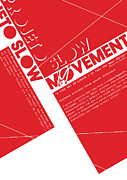 Cubes Posters - Slow Movement No.03 Poster by Caio Caldas