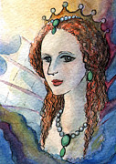 Graphic Novel Paintings - Sm002 Queen Elizabeth I by Kirohan Art