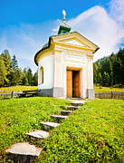 Oratory Photos - Small chapel in Austria by JR Photography