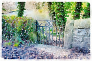 Ann Garrett - Small Gate in Ashford in...