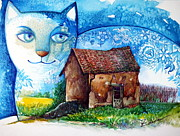 Oxana Zaika - Small House cat