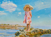 Child Originals - Small Island by Victoria Kharchenko