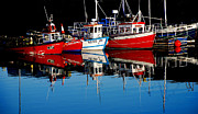 Frank Gaffney - Small Lobster Boats in...