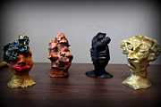 Small Sculptures  Print by Wynter Peguero