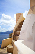 Staircase Prints - Small staircase Print by Aiolos Greece Collection