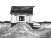 Barn Drawing Prints - Small Things Print by J Ferwerda