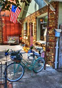 Small Towns Metal Prints - Small Town America Metal Print by Mel Steinhauer