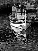 Trawler Metal Prints - Small traditional trawler Metal Print by Jose Elias - Sofia Pereira