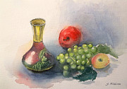 Small Vase 2 Print by Yoshiko Mishina