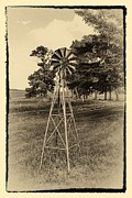 Rotate Prints - Small Windmill Print by Todd and candice Dailey