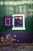 Wood Photo Posters - Small Window Poster by Joana Kruse