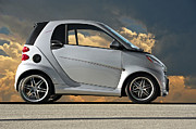 Family Car Posters - Smart Car Poster by Dave Koontz