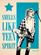 Kurt Cobain Digital Art - Smells like teen spirit by Israel Maia de Barros Vitor Junior