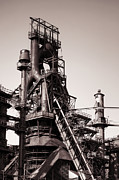 Steel Photos - Smelting Furnace by Olivier Le Queinec
