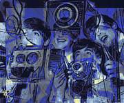 Mccartney Mixed Media - Smile for the camera by Russell Pierce