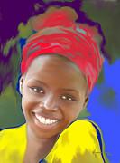 Smile Print by Kume Bryant