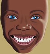 Smile Print by Sara Ponte