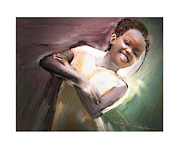 Haitian Digital Art Prints - Smiles Rule The Day Print by Bob Salo