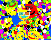 Etc. Digital Art - Smiley by HollyWood Creation By linda zanini