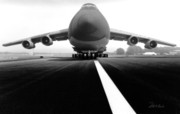 Runway Prints - Smiling C Five Galaxy Print by Frederic A Reinecke