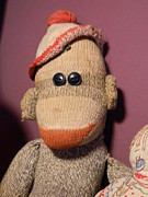 Michele Thomas - Smiling Old Sock Monkey