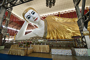 Civilizations Originals - SMILING RECLINING BUDDHA in Yangon by Juergen Ritterbach