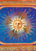 Smiling Mixed Media - Smiling Sun by Anne-Elizabeth Whiteway