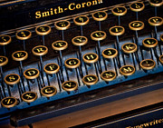 Write Prints - Smith Corona Vintage Typewriter Print by David and Carol Kelly