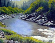 Smith Mixed Media - Smith River California by Kenny Henson