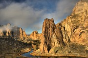 Oregon State Art - Smith Rock Foggy Morning by Adam Jewell