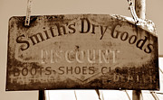 Goods Prints - Smiths dry goods Print by David Lee Thompson