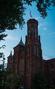 Smithsonian Photos - Smithsonian Castle Dawn by Steve Gadomski