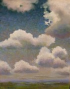 Sky Paintings - Smithville Rising II by Regina Calton Burchett
